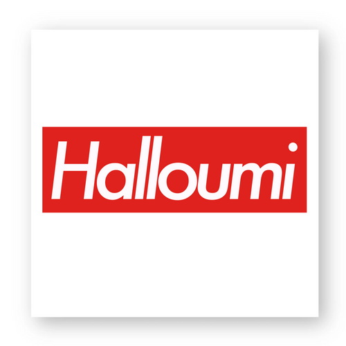 'Halloumi' - Sticker - Living Thing