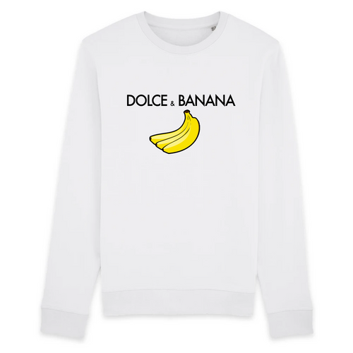 'Dolce & Banana' - Sweatshirt - Living Thing
