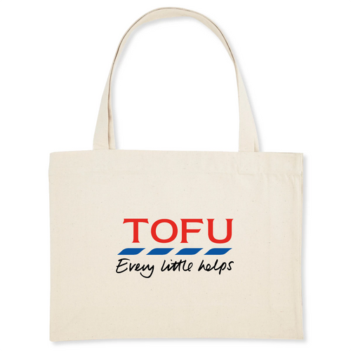 'Tofu' - Organic Shopping Bag - Living Thing