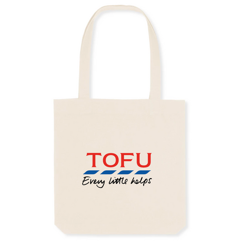 'Tofu' - Organic Totebag - Living Thing