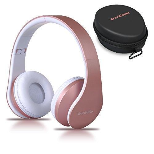 WorWoder Wireless Bluetooth Over Ear Stereo Foldable Headphones Wired Mode New - The Happy Tourist LTD
