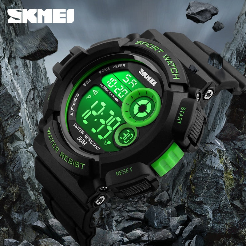 New Brand SKMEI Fashion Watch Men G Style Waterproof Sports Military Watches Shock Resistant Men's Luxury LED Digital Watch