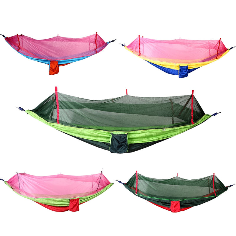 Ultra-Large 210T Parachute Hammock Single Person Travel Camping Survival Tree Sleeping Hamaca Terrace Garden Furniture Rede EA14