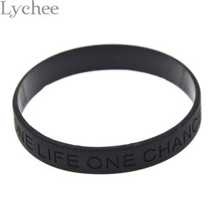 One Chance One Life Wristband