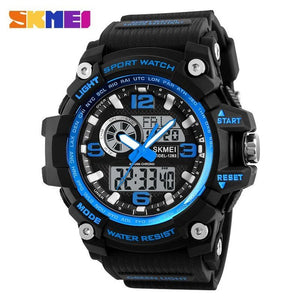 SKMEI G Style Military Sport Watch Mens Watches Top Brand Luxury Waterproof Shock Resist Men Sports Watches Relogio Masculino