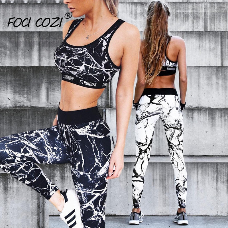 Women's Marble  Fitness Leggings