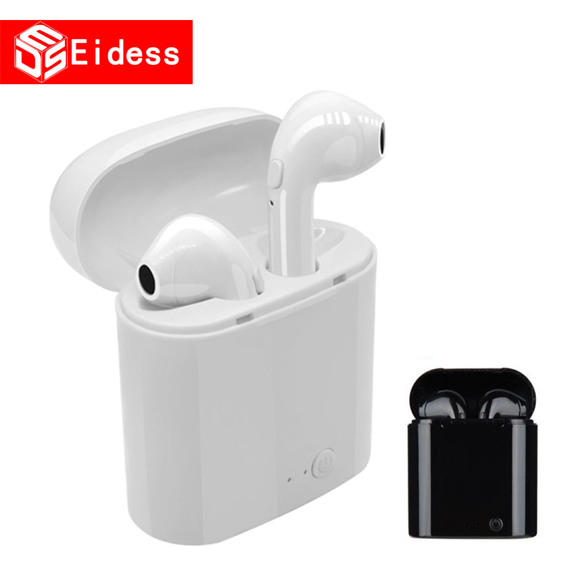 new EVybe Wireless Bluetooth 5.0 Hi-Fi Stereo Earbud Headset With Charging Box For All tablet Smart phone earphone earpods