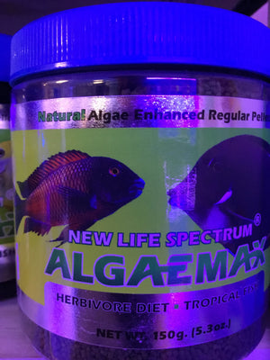 NLS Algaemax regular fish pellets 150g
