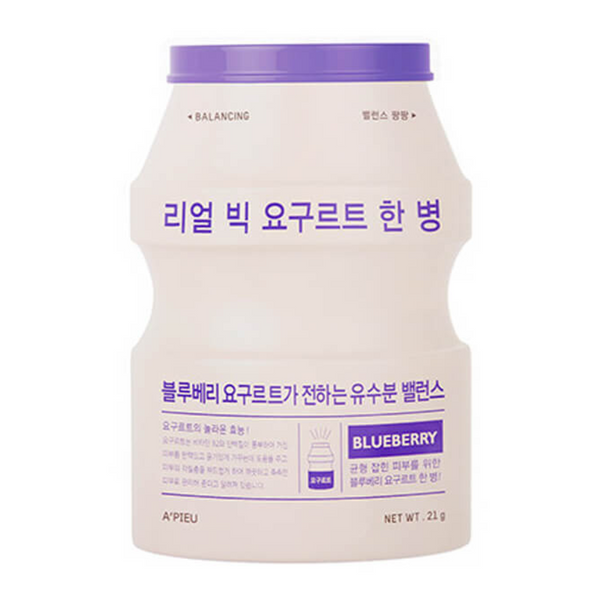 [A'PIEU] Real Big Yogurt One Bottle - Blueberry