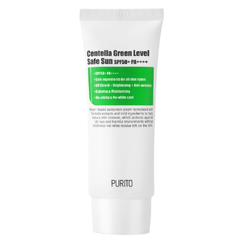 PURITO - Centella Green Level Safe Sun SPF 50+ PA++++