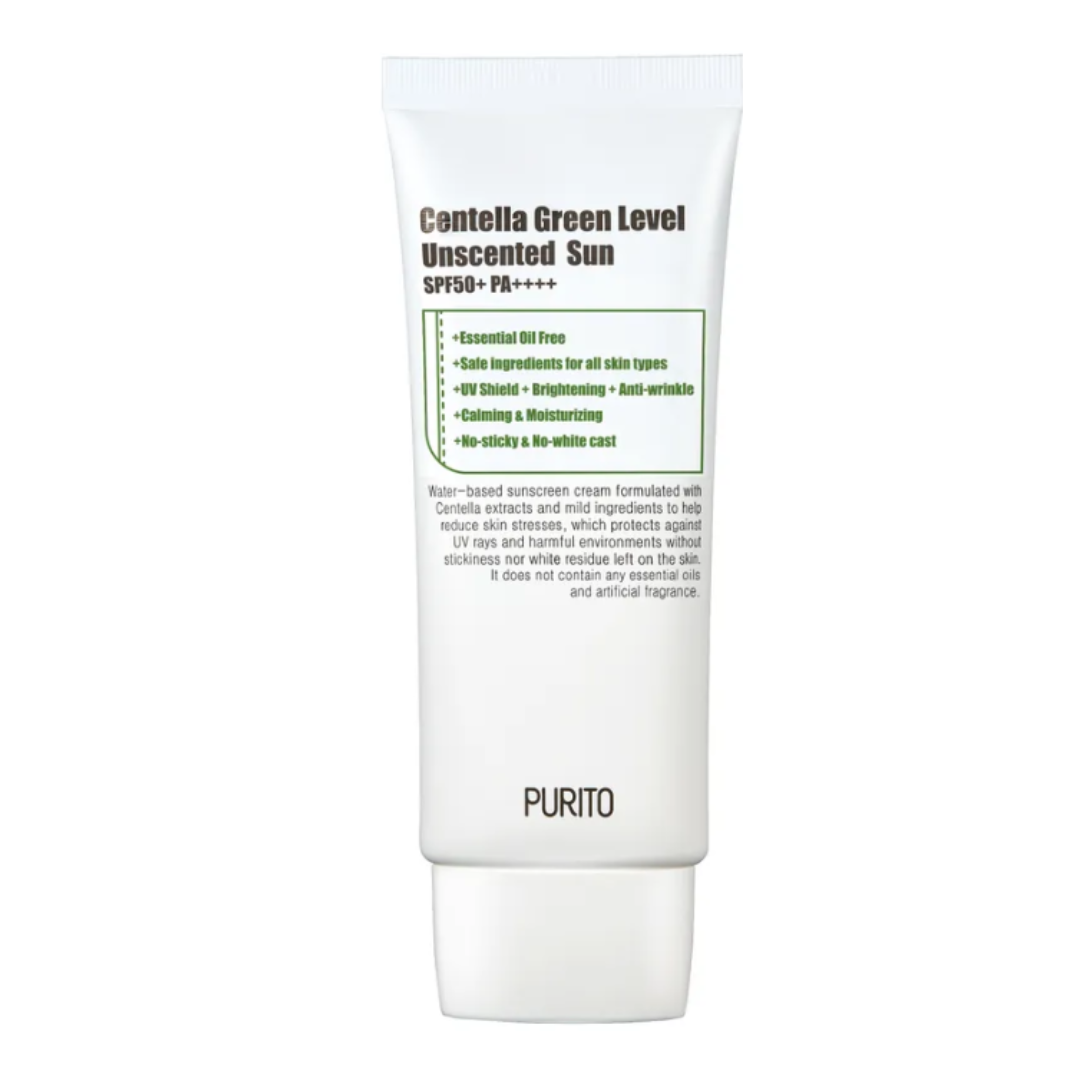 [PURITO] Centella Green Level Unscented Sun SPF50 PA++++