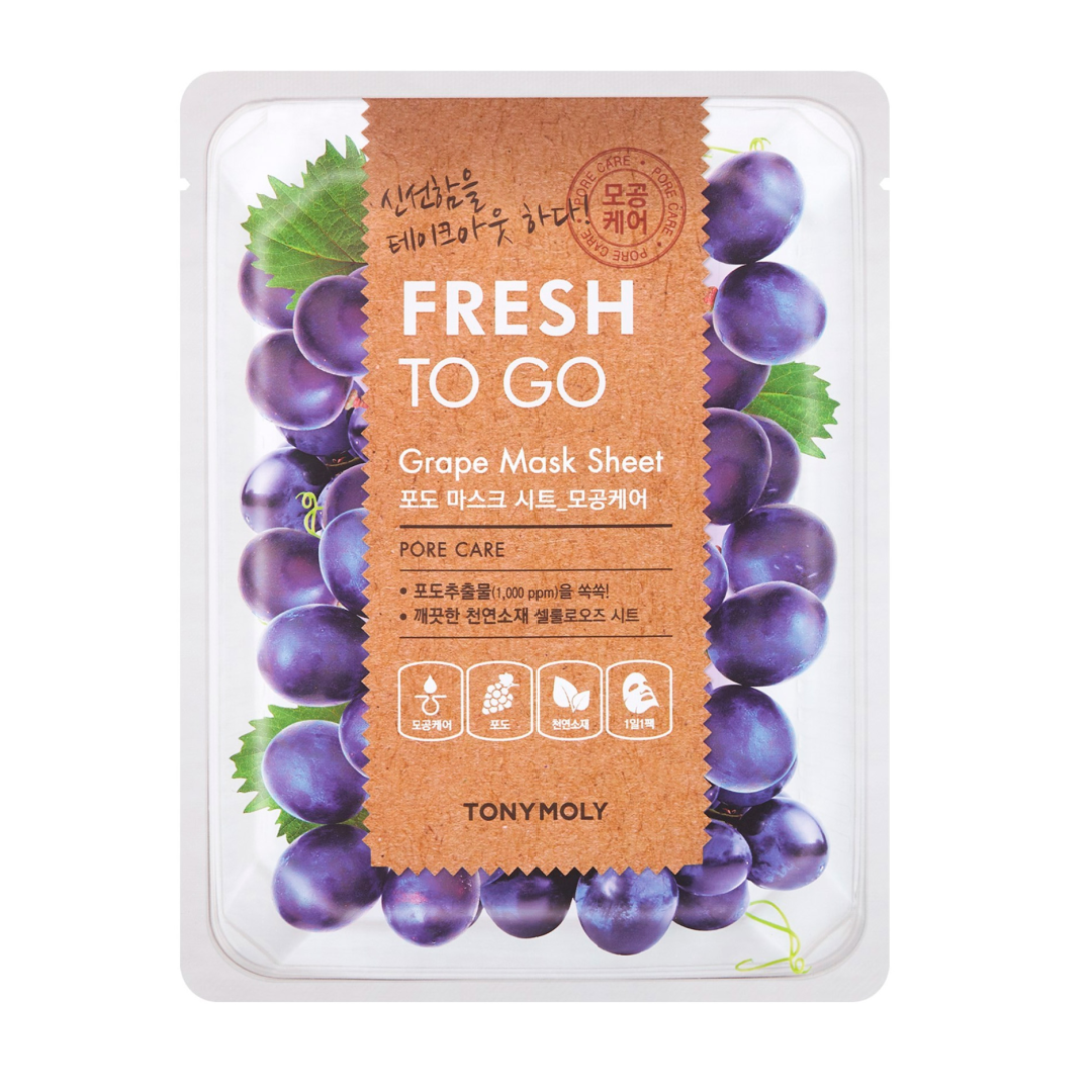 [Tonymoly] Fresh To Go Grape Mask Sheet