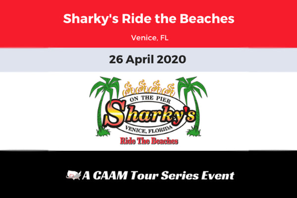 Sharky's Ride the Beaches 2020