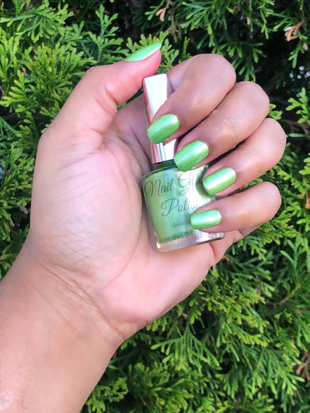 Lime Nail Glam Polish