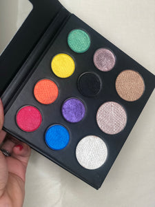 Rainbow Pop Up Palette
