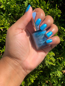 Pacific Blue Nail Glam Polish