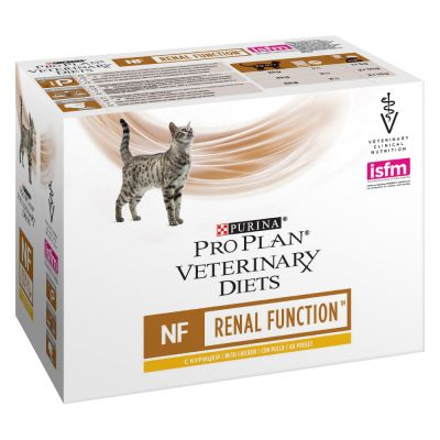 ProPlan Veterinary Cat NF Renal Pollo Box 10x85gr