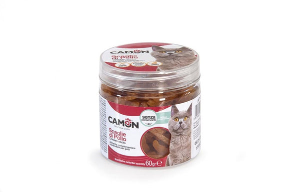 Camon Snack Cat Scaglie Di Pollo 60gr