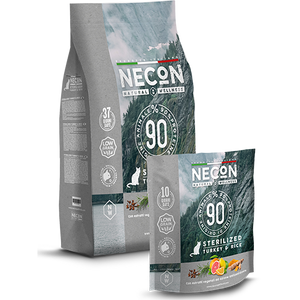 Necon Cat NW Sterilised Tacchino e Riso 1,5Kg