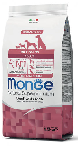 Monge All Breed Adult Manzo con Riso 12Kg