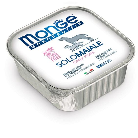 Monge Adult Monoprotein Solo Maiale 150gr