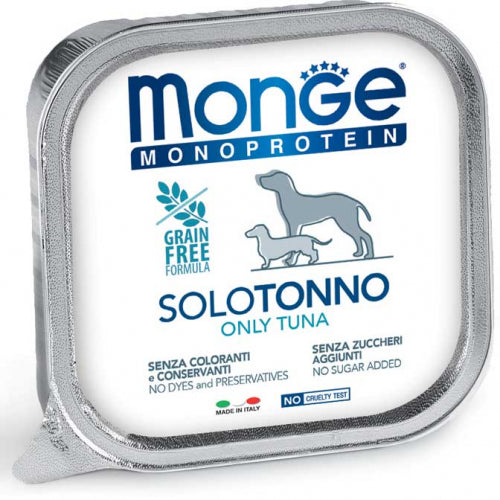 Monge Adult Monoprotein Solo Tonno 150gr