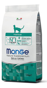 Monge Cat Hairball Pollo 1,5Kg