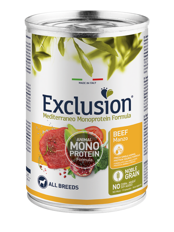 Exclusion MonoProtein Manzo 400gr