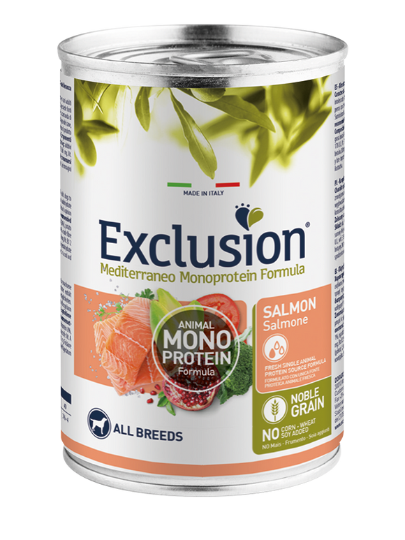 Exclusion MonoProtein Salmone 400gr