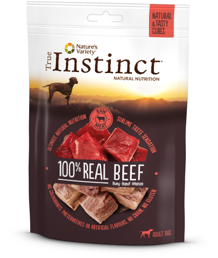 True Instinct Snack Real Beef 50gr