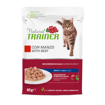 Natural Trainer Manzo in Salsa 85gr