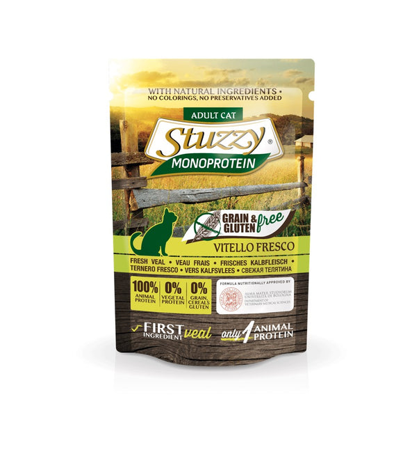 Stuzzy Monoprotein Grain Free Cat Vitello 85gr