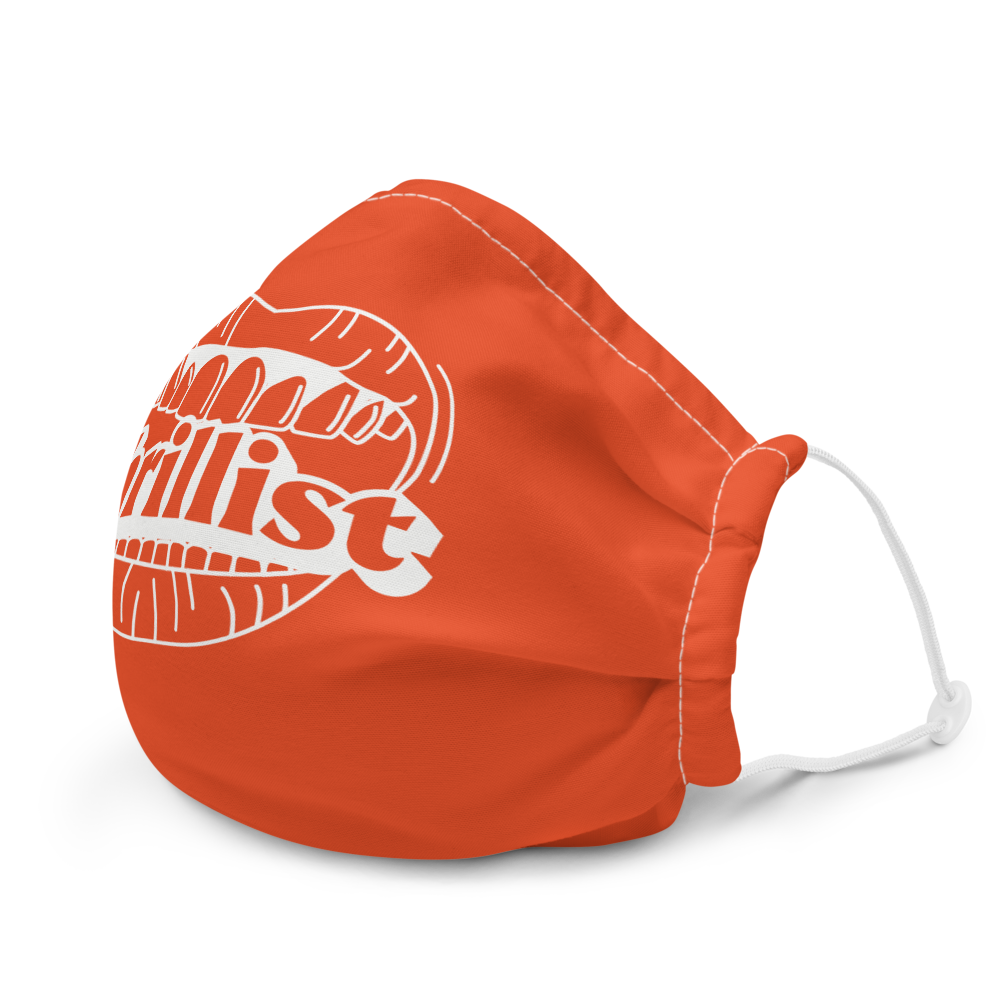 Thrillist Face Mask - Red