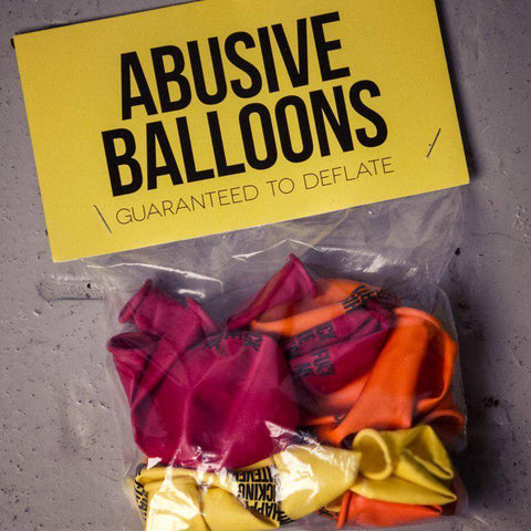 Image of 12 Abusive Balloons