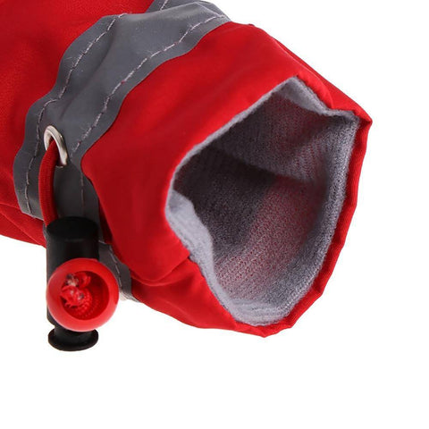 4Pcs Waterproof Winter Boots for Dogs