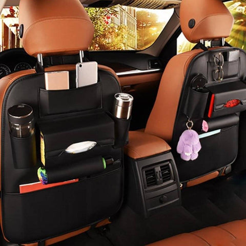 Image of Leather Car Organizer