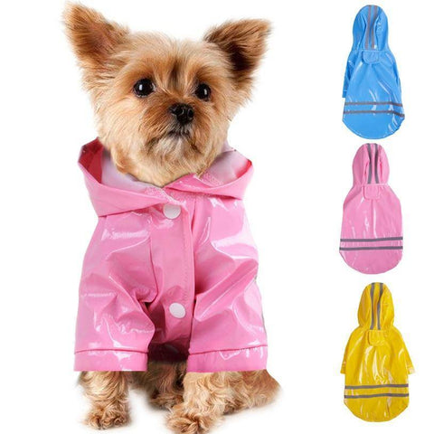 Dog Rain Coat S-XL