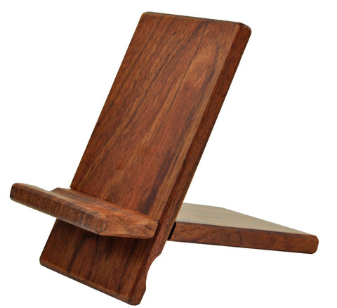 eimolife Natural wood Bamboo hard Panel stand for iPhone, iPad, SamSung mobile phone, Tablet PCs, e-Readers, kindle, etc. (scentedwood)