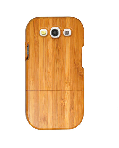 eimolife SamSung Galaxy S3 III Natural Handmade Wood Bamboo Case Protective Cover (bamboo)