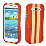eimolife SamSung Galaxy S3 III Natural Handmade Wood Bamboo Case Protective Cover (rosewood & maple)