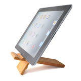 eimolife Natural wood Bamboo hard Panel stand for iPhone, iPad, SamSung mobile phone, Tablet PCs, e-Readers, kindle, etc. (bamboo)