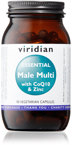 Viridian Essential Male Multi - 90 Veg Caps