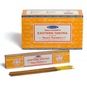 Incense Sticks Satya - Eastern Tantra - 15g (approx 15 Sticks)