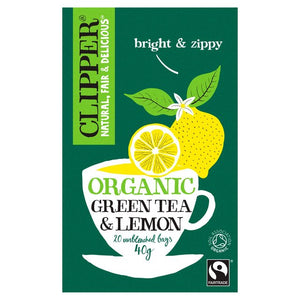 Clipper Organic Green Tea w/Lemon (20 T/bags)