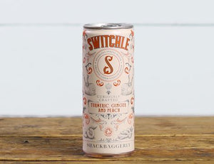 Switchle Turmeric Ginger and Peach ACV Drink 250ml