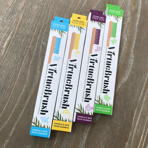 VirtueBrush Plant Based Kids Size Toothbrush Extra Soft