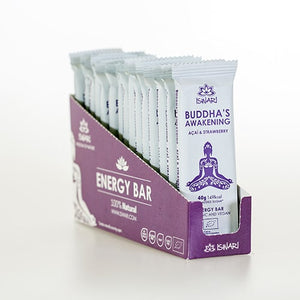 Iswari Buddha's Awakening  Acai & Strawberry (40g) Bar