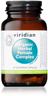 Viridian Organic Herbal Female Complex (30 Veg Caps)