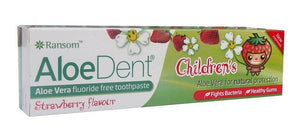Aloe Dent Childrens Strawberry flavored Toothpaste 50ml
