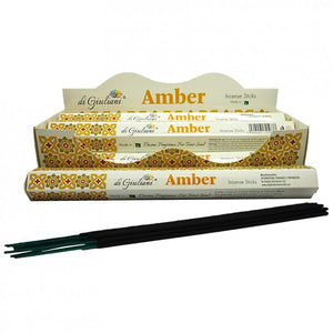 Incense Sticks - Amber - 20 Sticks